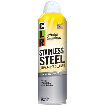 Clr Stainless Steel Cleaner Citrus Non Abrasive Streak