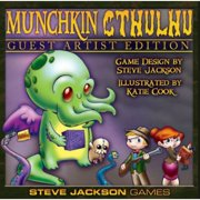 Munchkin Cthulhu Guest Artist Edition Game,  Kids Games by ACD Distribution