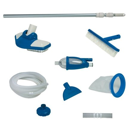 Intex Deluxe Pool Maintenance Kit for Use with 18' Diameter or Larger Pools (Index Starter Kit)