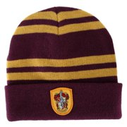 408132f64b2 HARRY POTTER Slytherin House Beanie Cap HAT w  CREST LICENSED Hogwarts.  Price