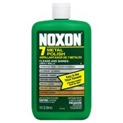 Noxon 7 Liquid Metal Polish, 12oz Bottle for Brass, Copper, Stainless, Chrome, Aluminum, Pewter & Bronze
