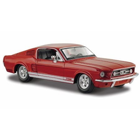 1967 Ford Mustang GT-500, Red - Maisto 31260 - 1/24 scale diecast model