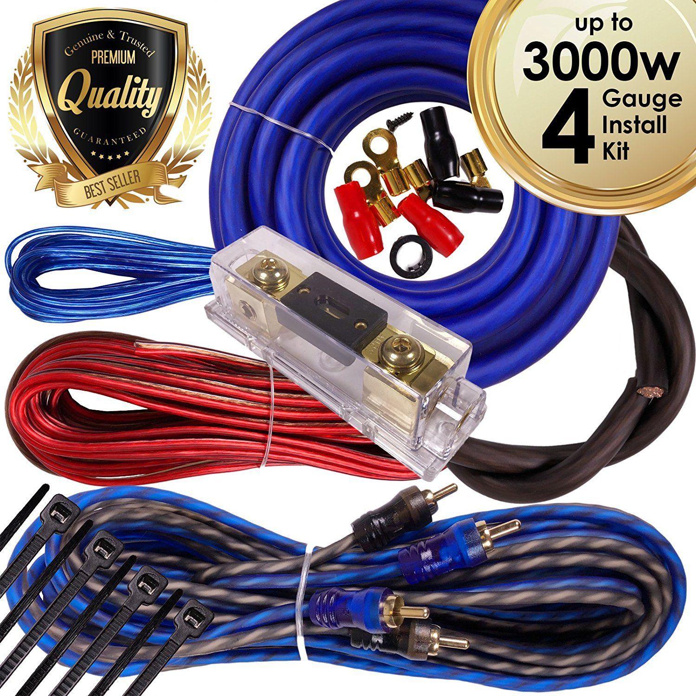 Superb 4 Gauge Wiring Kit Car Audio Basic Electronics Wiring Diagram Wiring Cloud Ratagdienstapotheekhoekschewaardnl