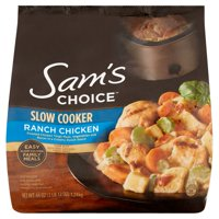 Sam's Choice Frozen Slow Cooker Ranch Chicken, 44 oz