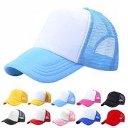 18790781 Kacakid Baby Toddler Boys Girls Sport Hat Child Peaked Baseball Mesh  Snapback Adjustable Cap 3-