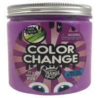 Compound Kings Color Changing Slime 15 oz Jar: Purple to White