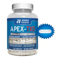 APEX-TX5 Metabolic Support Formula Dietary Supplement, 120 Count