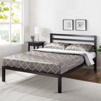 Mainstays Metal Platform Bed with Metal Headboard
