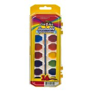 Cra-Z-Art Washable Watercolors Includes Brush & tray - 16 Count
