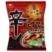 Nong Shim Shin Ramyun Noodle Gourmet Spicy Soup, 4.2 oz