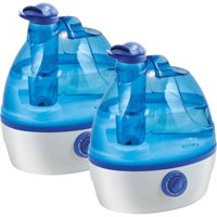 Comfort Zone Czhd24 0.6-Gallon Ultrasonic Cool Mist Humidifier, 2 pack