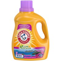 Arm & Hammer Clean Scentsations Tropical Paradise Liquid Laundry Detergent, 100.5 fl oz