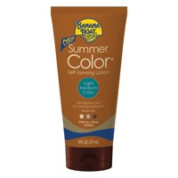 Banana Boat Summer Color Self-Tanning Lotion, Light/Medium, 6 Oz, Packaging May Vary