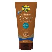 Banana Boat Summer Color Self-Tanning Lotion Light/Medium - 6 Ounces