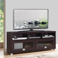 "Techni Mobili Durbin TV Stand Cabinet for TVs up to 75"", Espresso"