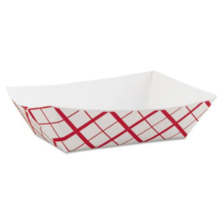 Southern Champion Tray SCH0425 Paper Food Baskets, 3lb, Red/white, 500/carton](Paper Food Trays Walmart)