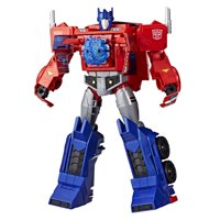 Transformers Toys Optimus Prime Cyberverse Ultimate Class Figure