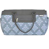 JJ Cole Parker Diaper Bag, Blue Iris