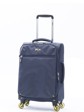 iFLY Soft Sided Luggage Ez Glider 20, Navy
