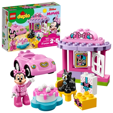 - LEGO DUPLO Disney TM Minnie's Birthday Party 10873