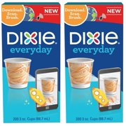 Dixie 3oz Bath/Mouth Rinse Paper Cups, 200ct