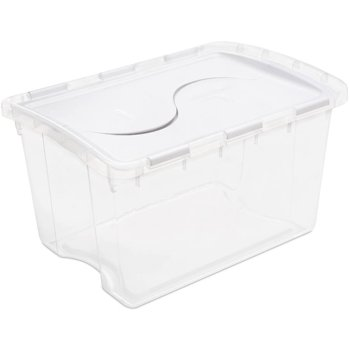 Sterilite 48-Qt. Lid Storage Box, 6 Case