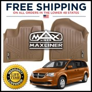 Maxliner 2008-2019 Dodge Grand Caravan 2008-2016 Chrysler Town & Country Floor Mats