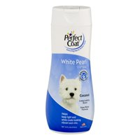 Perfect coat white pearl coconut scented dog shampoo, 16-oz bottle