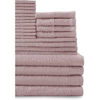Baltic Linen Company 24 Piece Multi Count Complete Cotton Towel Set