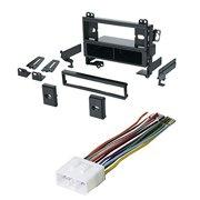 chevrolet prizm geo prizm car stereo radio kit dash installation mounting  trim bezel w/ wiring