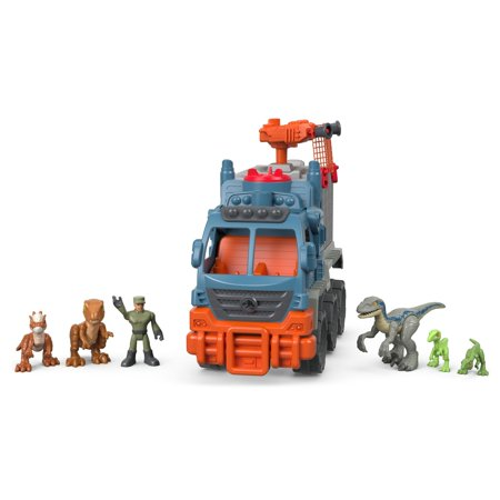 Imaginext Jurassic World Dinosaur Hauler Vehicle Gift Set