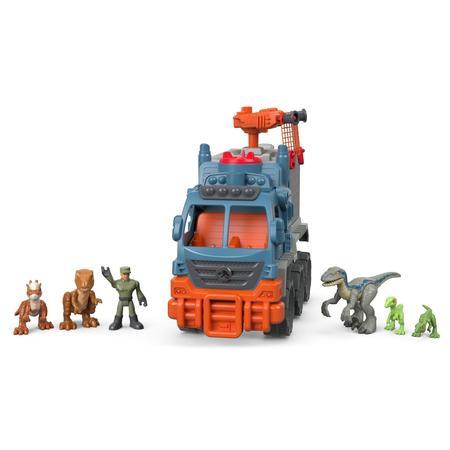 Imaginext Jurassic World Dinosaur Hauler Vehicle Gift Set](Build A Dino)