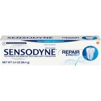 Sensodyne Repair & Protect Fluoride Toothpaste for Sensitive Teeth, 3.4 ounces