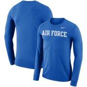 de0dc8d44c21 Air Force Falcons Nike Performance Cotton School Wordmark Long Sleeve  T-Shirt - Royal
