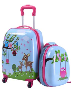e664268af74 Product Image 2Pc 12   16   Kids Luggage Set Suitcase Backpack School  Travel ...