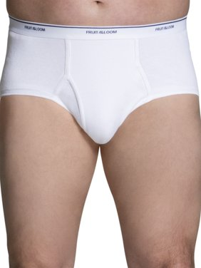 Big Men's White Briefs, 3 Pack