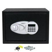 Zeny Digital Security Safe Box Sturdy Construction w/Electronic Lock, 2 Emergency Override Keys
