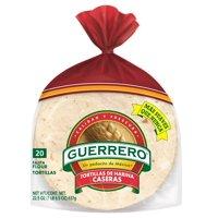 """Guerrero Flour 6"""" Fajita Style Tortillas Caseras, 20 ct"""