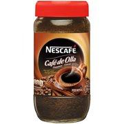 NESCAFE CAFE DE OLLA Cinnamon Instant Coffee Beverage 6.7 oz. Jar