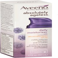 AVEENO Active Naturals Absolutely Ageless Daily Moisturizer, Blackberry 1.7 oz (Pack of 2)