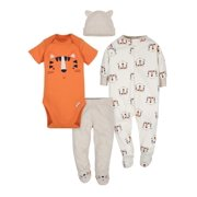 53787de00 Gerber Take Me Home Outfit Baby Shower Gift Set, 4pc (Baby Boys)