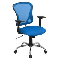 Flash Furniture Mesh Desk Chair with Chrome Base, Multiple Colors