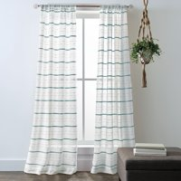 Better Homes and Gardens Woven Stripe Pole Top Panel Pair