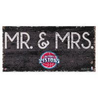 Fan Creations NBA Mr. and Mrs. Sign