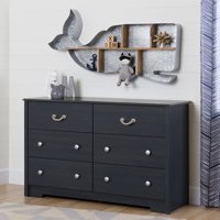 South Shore Aviron 6-Drawer Double Dresser, Multiple Finishes