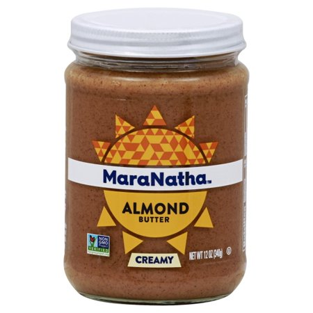Make Almond Butter - MaraNatha No Stir Creamy Almond Butter, 12 oz.
