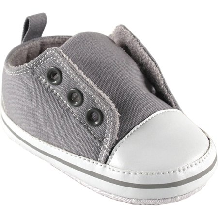 Newborn Baby Boys' and Girls' Laceless Sneakers, Choose Your Color & Size ()
