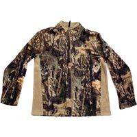Mossy Oak Men's Fleece Camo Full Zip Jacket, MO Breakup Country