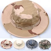 4c7d43c49ac Obstce Unisex Woodland Fishing Hiking Travel Military Sun-proof Camo Boonie  Hat Cap. Product Variants Selector. Price