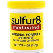 Sulfur 8 Medicated Anti-dandruff Hair & Scalp Conditioner for Kids 4 Oz